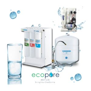 5-Stage Reverse Osmosis Water Purification System