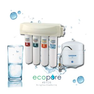 4 Stage Reverse Osmosis Water Purification System